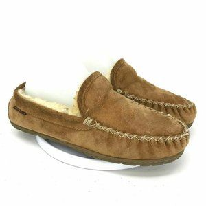 LL Bean Mens Moccasins Slippers Loafers  Size 7